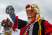 Christmas parade<br /> Riobamba<br /> Cordillera Occidental, Andes<br /> ECUADOR, South America