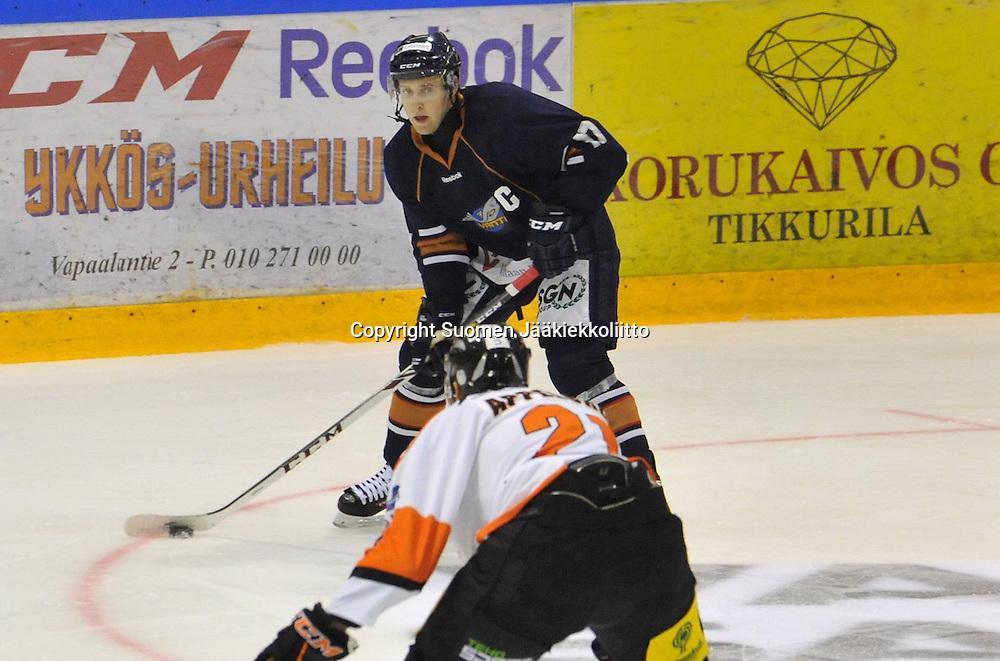Mestis-kauden 2014-2015 avausottelu Kiekko-Vantaa - KooKoo pelattiin Tikkurilassa 10.9.2014.