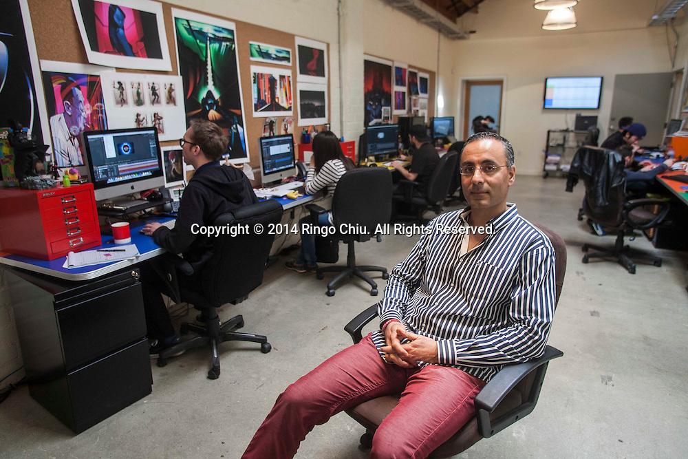 Babak Razi, principal of Third Wave Ventures.<br /> (Photo by Ringo Chiu/PHOTOFORMULA.com)