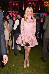 Caprice Bourret at the Victoria & Albert Museum's Summer Party in partnership with Harrods at The V&A Museum, Exhibition Road, London, England. 20 June 2018.