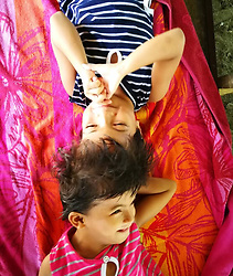 "EXCLUSIVE: By Sherbien Dacalanio in Philippines A Filipino family is desperately trying to raise funds required for separation of their conjoined twins attached at the forehead despite the risk of them dying in the operation. Chiara and Charina, 7, from Roxas in Palawan, were born with craniopagus. The conjoined wins' struggle starts with waking up and till the time they go to sleep. In between of everything, whatever daily chores everyone does is excruciating painful and difficult for them. From bathing, to eating, while going to school, they need to manage their heads that is stuck to each other sharing an artery. Sonia Nortega, 37, the mother of twins, says: ""We conducted a series of medical procedure on the twins, such as MRI and CT Scan. Much to our dislike, the reports suggest that it will be a risky affair to separate Chiara and Charina. In the arterial studies there is clear arterial crossover and sharing between the twins. In addition the venous studies show a very robust outflow circulation in the larger venous vessels. There is also very poor central deep drainage in the veins.' ""But we have decided to go ahead with the process anyway. I am well aware that during the process we might end up losing one of the twins. If one of them gets cured and starts leading a normal life, I would know the other sister's sacrifice was worth. I am positive and believe in the miracles of science. I wishes to send my daughters to better surgeons, who can handle the risk of this case and cure her daughters. My heart says that they both would survive the operation and would be able to lead a normal life,"" the said 37-year-old mother of five. The Nortegas have three other children that were born normal without any complication and lead normal life. After the doctors told the family that the separation of the twins possible is but involves a risky operation, a local charity withdraw its earlier financial support. Now, the Nortegas are finding it difficult to raise f"