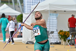 05/08/2017; Valciukas, Egidijus, F41, LTU at 2017 World Para Athletics Junior Championships, Nottwil, Switzerland