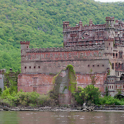 Bannerman's Island ruin on the Hudson River, near Cold Spring, NY