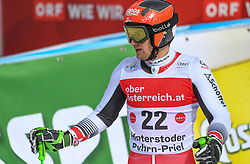 26.10.2019, Hannes Trinkl Weltcupstrecke, Hinterstoder, AUT, FIS Weltcup Ski Alpin, Riesenslalom, Herren, 2. Lauf, im Bild Roland Leitinger (AUT) // Roland Leitinger of Austria reacts after his 2nd run of men's Giant Slalom of FIS ski alpine world cup at the Hannes Trinkl Weltcupstrecke in Hinterstoder, Austria on 2019/10/26. EXPA Pictures © 2020, PhotoCredit: EXPA/ Erich Spiess