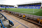 A general view of the Abax Stadium before the EFL Sky Bet League 1 match between Peterborough United and Charlton Athletic at London Road, Peterborough, England on 26 January 2019.