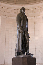 Washington DC; USA: The Thomas Jefferson Memorial, with his statue in a rotunda at the Tidal Basin.Photo copyright Lee Foster Photo # 6-washdc82701