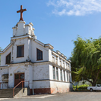 Portuguese church in Echo, Oregon