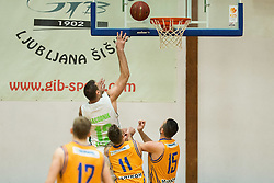 Goran Jagodnik of Ilirija during basketball match between KD Ilirija and KK Celje in 2. SKL za moske 2016/17, on November 25, 2016 in Ljubljanski grad, Ljubljana, Slovenia. Photo by Vid Ponikvar / Sportida