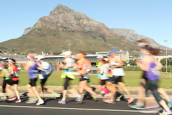 Runners make their way to Rondebosch during the 2016 Sanlam Cape Town marathon held in Cape Town, South Africa on the 18th September  2016<br /> <br /> Photo by: Ron Gaunt / RealTime Images