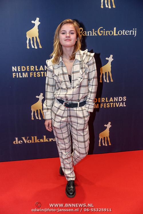 NLD/Utrecht/20180927 - Openingsavond Nederlands Film Festival Utrecht, Romy Gevers