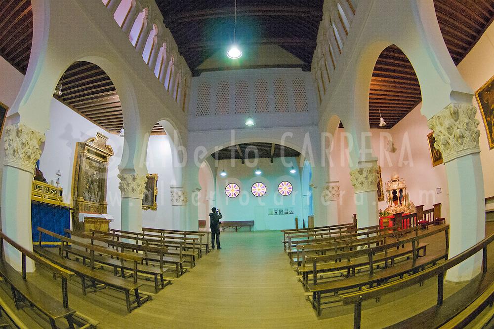 Alberto Carrera, Church of Corpus Christi, Old Main Synagogue, Segovia, World Heritage Site UNESCO, Castilla y Le&oacute;n, Spain, Europe.<br /> <br /> EDITORIAL USE ONLY