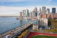 manhattan - New York City in October 2008