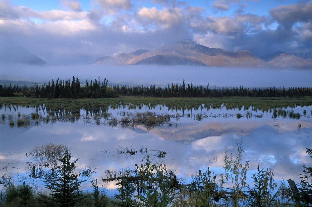 Slana Slough near Slana, Alaska, USA