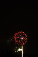 Montgomery Township Fireworks. Image taken with a Nikon D800 camera and 200 mm f/2 lens (ISO 100, 200 mm, f/11, 8 sec).