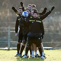 St Johnstone FC January 2012