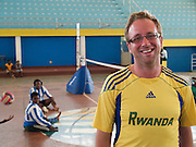 VSO volunterr, Nic Clarke, is working as the Management and Administration Coach with the National Paralympic Committee (NPC) in Kigali, Rwanda. On a day-to-day basis NPC works in schools and special education centres, it also does awareness raising, advocacy and lobbying work, and works with athletes competing at world level. One of its main aims is to increase the number of women and youth in sports for people with disabilities, and bring international trainers to Rwanda to increase competitiveness.