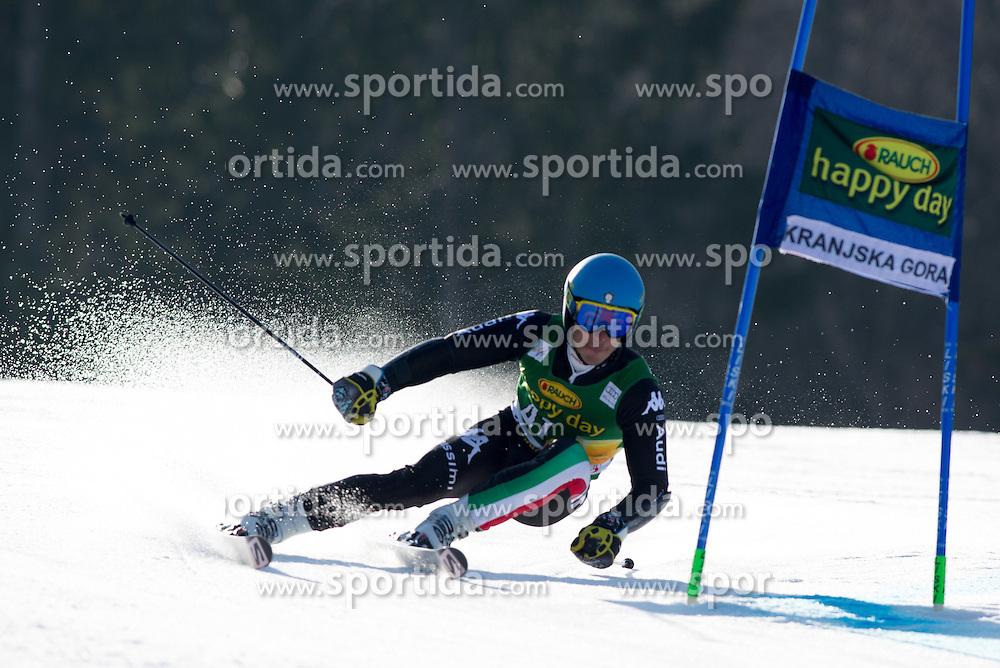 BORSOTTIGiovanni of Italy during the 1st Run of Men's Giant Slalom - Pokal Vitranc 2014 of FIS Alpine Ski World Cup 2013/2014, on March 8, 2014 in Vitranc, Kranjska Gora, Slovenia. Photo by Matic Klansek Velej / Sportida