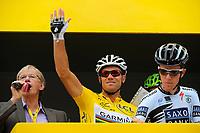 CYCLING - TOUR DE FRANCE 2011 - STAGE 6 - Dinan > Lisieux (226,5 km) - 07/07/2011 - PHOTO : JULIEN CROSNIER / DPPI - THOR HUSHOVD (NOR) / TEAM GARMIN - CERVELO