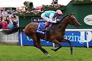ENABLE (1) ridden by Frankie Dettori and trained by John Gosden winning The Group 1 Darley Yorkshire Oaks over 1m 4f (£425,000)   during the Ebor Festival at York Racecourse, York, United Kingdom on 22 August 2019.