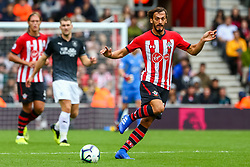Steven Davis of Southampton - Mandatory by-line: Ryan Hiscott/JMP - 12/08/2018 - FOOTBALL - St Mary's Stadium - Southampton, England - Southampton v Burnley - Premier League