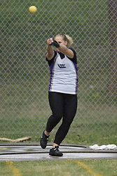 Lane, Diana competing in the women's hammer throw final at the 2007 OTFA Junior-Senior Championships held in Ottawa from 30 June to July 1.