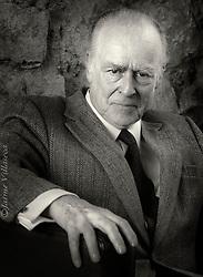 FOTÓGRAFO: Jaime Villaseca ///<br /> <br /> Don Fernando Moreno, filósofo.