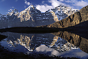 Reflection in Valley of the Ten Peaks
