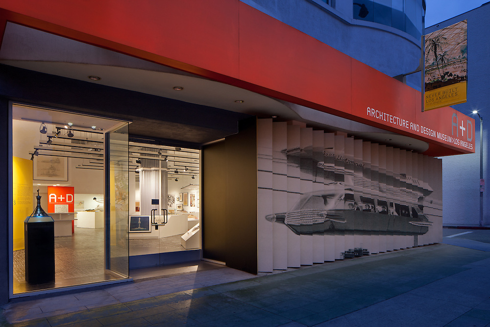 A+D Museum - Never Built /  Photography by Tom Bonner - Job ID 5979