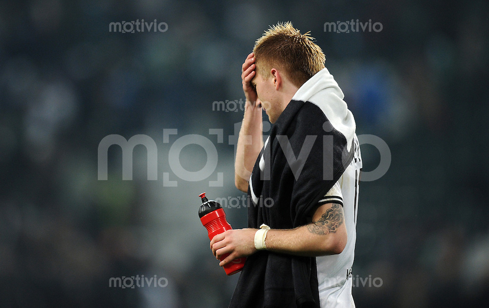 FUSSBALL   1. BUNDESLIGA   SAISON 2011/2012   18. SPIELTAG Borussia Moenchengladbach - FC Bayern Muenchen    20.01.2012 Marco Reus (Borussia Moenchengladbach)  xxNOxMODELxRELEASExx