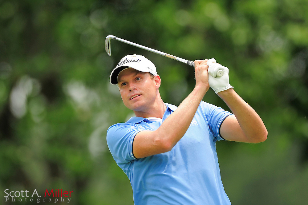 Nick Watney during the final round of the AT&T National at Congressional Country Club on July 1, 2012 in Bethesda, Maryland. ..©2012 Scott A. Miller
