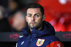 "Bristol City Assistant Head Coach Jamie McAllister during the Sky Bet Championship match at Bramall Lane, Sheffield. PRESS ASSOCIATION Photo. Picture date: Friday December 8, 2017. See PA story SOCCER Sheff Utd. Photo credit should read: Mike Egerton/PA Wire. RESTRICTIONS: EDITORIAL USE ONLY No use with unauthorised audio, video, data, fixture lists, club/league logos or ""live"" services. Online in-match use limited to 75 images, no video emulation. No use in betting, games or single club/league/player publications."