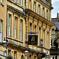 Bath Stone Facades in Bath, England <br />