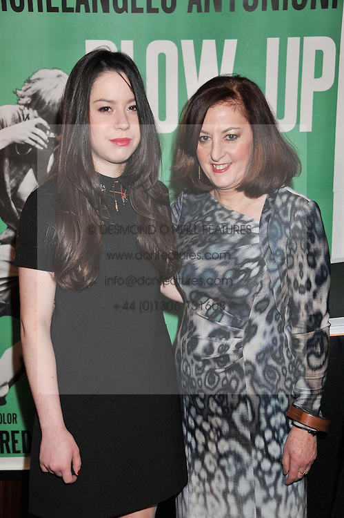 Left to right, SOPHIE BECKER and VIVIENNE BECKER at a party to celebrate the publication of The Impossible Collection of Jewelry by Vivienne Becker hosted by Assouline and Bulgari at the Bulgari Hotel, 171 Knightsbridge, London on 17th January 2013.