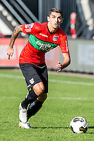 NIJMEGEN - NEC - Vitesse , Voetbal , Eredivisie , Seizoen 2016/2017 , Stadion de Goffert , 23-10-2016 , NEC NEC Nijmegen speler Wojciech Golla