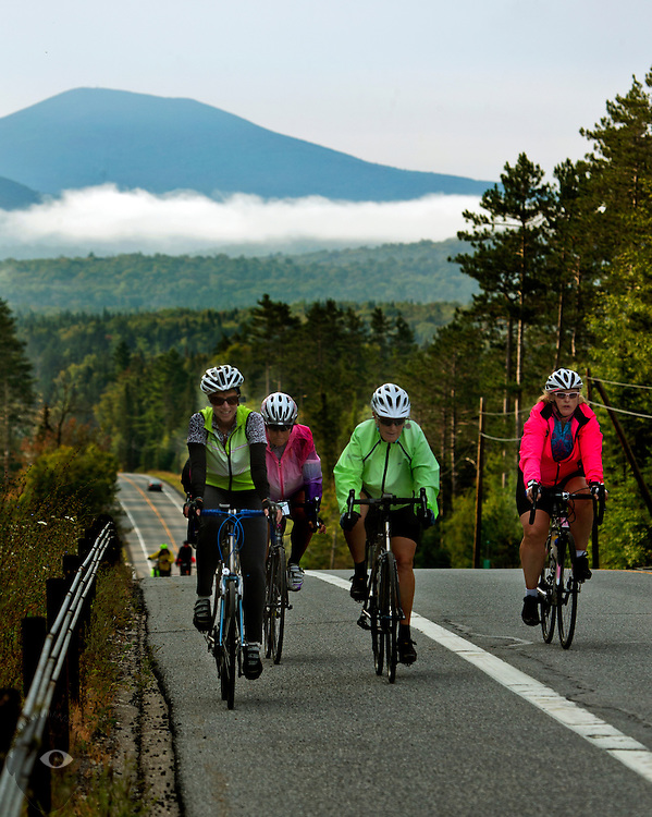 Day 7 from Long Lake to Saranac Lake on Saturday, August 29, 2015.