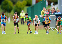 13 Aug 2016:  U12 Mixed Distance Relay heats.  2016 Community Games National Festival 2016.  Athlone Institute of Technology, Athlone, Co. Westmeath. Picture: Caroline Quinn