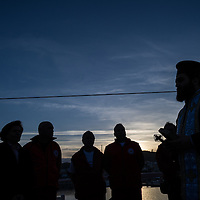 06 Lesbos christening rescue vessel Minden