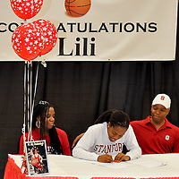 Lili Thompson - Stanford Scholarship Signing