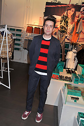 NICK GRIMSHAW at the Launch Of The Marni For H&M Collection held at H&M Regent Street, London on 7th March 2012.