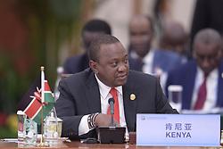 BEIJING, Sept. 4, 2018  Kenyan President Uhuru Kenyatta attends a round table of the 2018 Beijing Summit of the Forum on China-Africa Cooperation (FOCAC) in Beijing, capital of China, Sept. 4, 2018.  mcg) (Credit Image: © Li Xueren/Xinhua via ZUMA Wire)