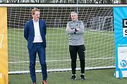 2018-030-21. DVSU, Utrecht. Kick-off sportplaatjesactie. Op de foto: Sebastiaan van Duijn en Edwin Zoetebier