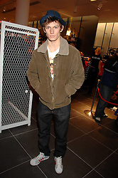 Actor ALEX PETTYFER at a party to celebrate the opening of the new H&M store at 234 Regent Street, London on 13th February 2008.<br /><br />NON EXCLUSIVE - WORLD RIGHTS