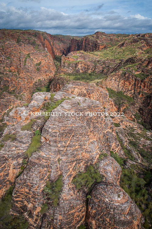 Aerial view of the Bungle Bungles (Purnululu) in the East Kimberley region of Western Australia.