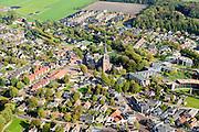 Nederland, Friesland, Gemeente De Friese Meren , 10-10-2014; Sint-Nicolaasga.<br /> <br /> luchtfoto (toeslag op standard tarieven);<br /> aerial photo (additional fee required);<br /> copyright foto/photo Siebe Swart