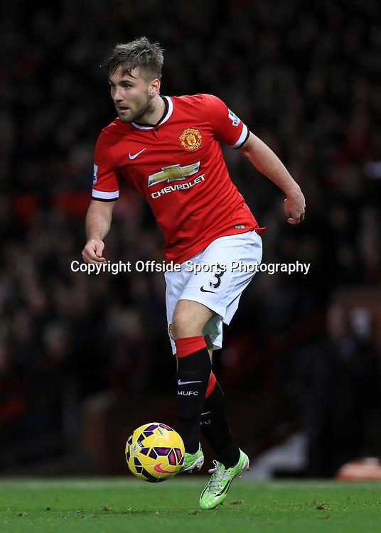 11th January 2015 - Barclays Premier League - Manchester United v Southampton - Luke Shaw of Man Utd - Photo: Simon Stacpoole / Offside.