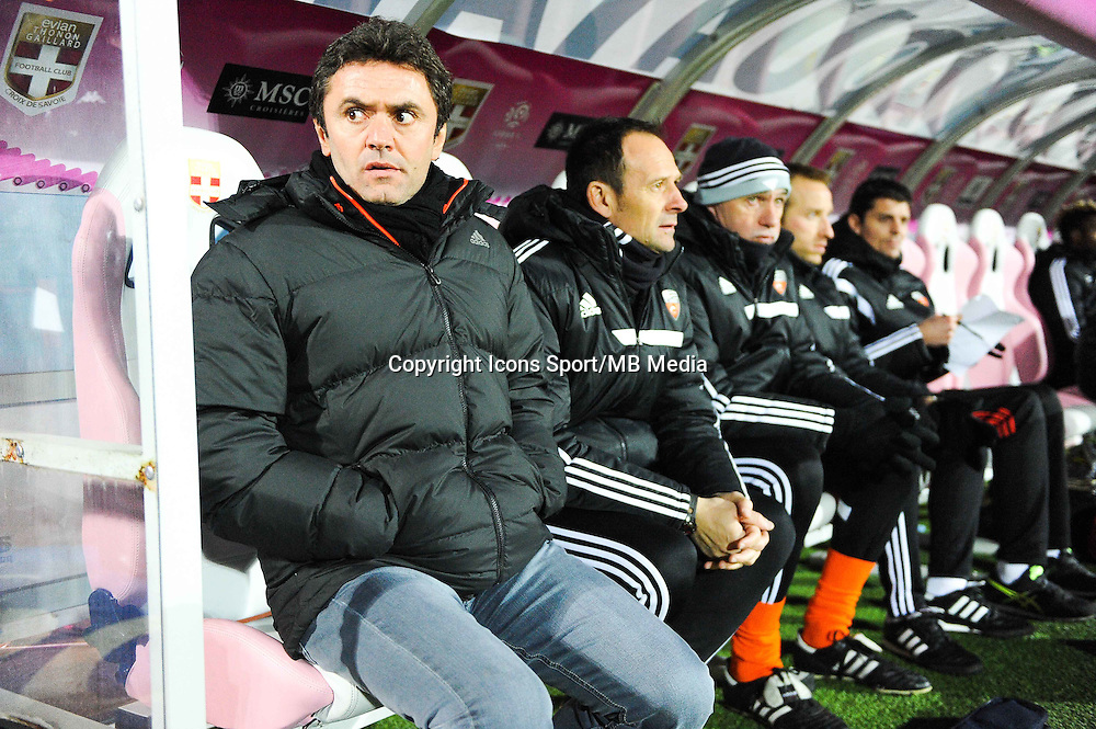 Sylvain RIPOLL  - 04.03.2015 - Evian Thonon / Lorient - Match en retard de la 26eme journee de Ligue 1 <br />