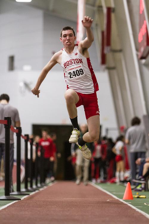 Boston University John Terrier Classic Indoor Track & Field: Tyler Malone, BU, mens triple jump