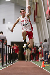 Boston University John Terrier Classic Indoor Track & Field: Tyler Malone, BU, mens triple jump