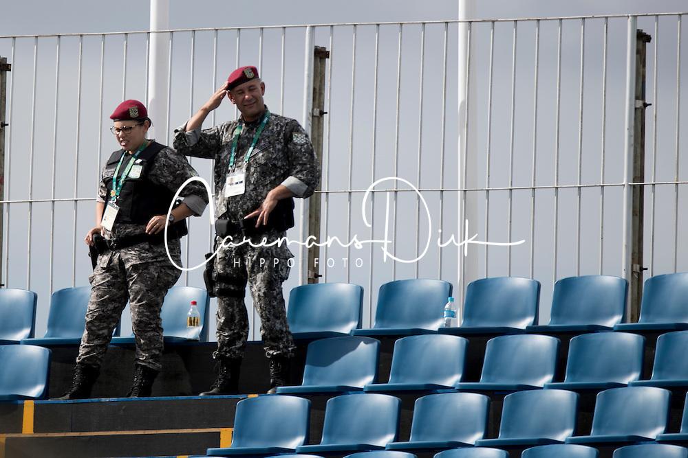 Brazilian military<br /> Olympic Games Rio 2016<br /> © Hippo Foto - Dirk Caremans<br /> 12/08/16