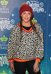 November 21, 2018 - London, Greater Lodnon, United Kingdom - English pop singer Michelle Heaton at the Hyde Park Winter Wonderland VIP launch..British celebrities gather at Hyde Park for the VIP Launch of Hyde Park Winter Wonderland 2018. (Credit Image: © Keith Mayhew/SOPA Images via ZUMA Wire)